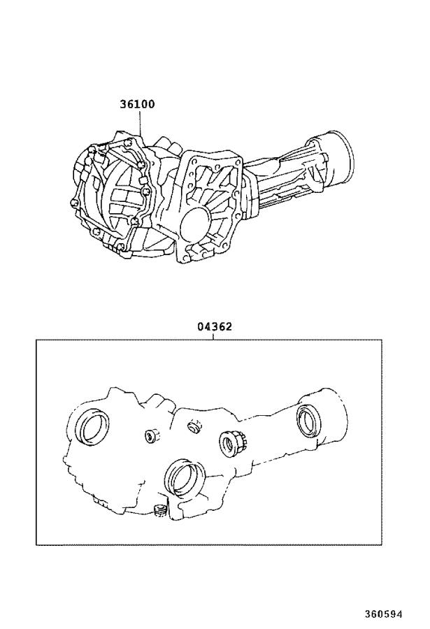 Types of four-wheel drive (4WD) and all-wheel drive (AWD ...  |All Wheel Drive Transfer Case Diagram
