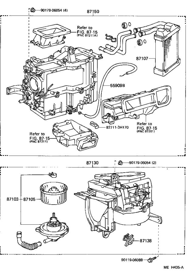 Toyota Camry Relay; relay assembly. Cooler; heater blower ...